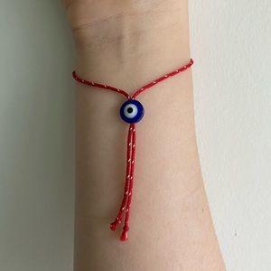 Blessed Red String Evil Eye Bracelet